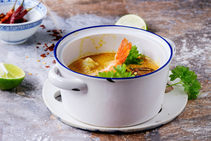 April's Showers Bring Spring Soups by Amy Powell for CDKitchen