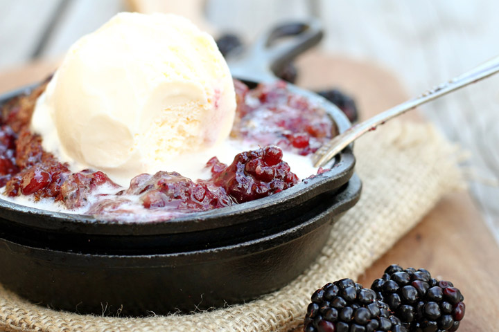 healthy fruit crumble recipe blackberry fruit