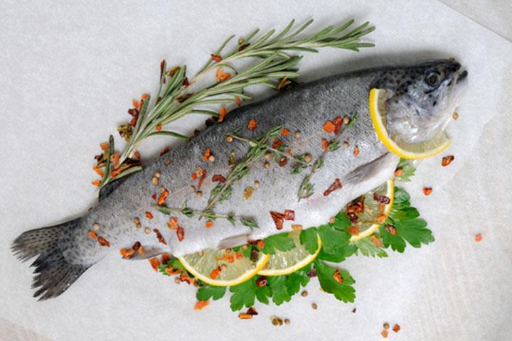 I Heart Fish in Parchment by Amy Powell for CDKitchen