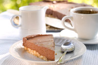 cooking article: Chocolate Cheesecake... In the...
