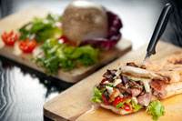 cooking article: Philadelphia's Other Sandwich...
