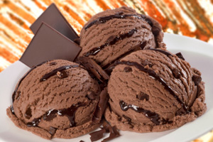 Chocolate ice cream is versatile as it can pair well with flavors like ...