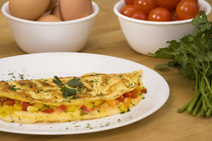 Chicken-Liver Omelet and more recipes