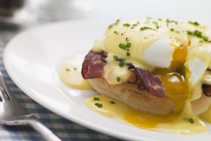 Crab Eggs Benedict and more recipes