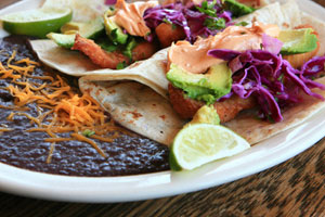 Pomeroy Steakhouse's Blackened Tilapia Tacos and more recipes