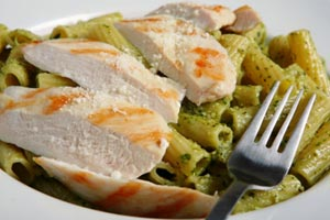 Lowfat Chicken Pasta and more recipes