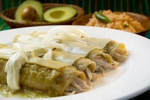 Cheesy Chicken Enchiladas and more recipes