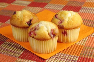Fresh Cranberry Muffins and more recipes