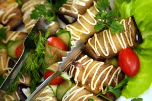 Greek Eggplant Salad and more recipes
