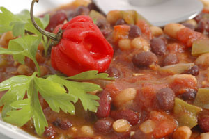 Beans And Veggie Chili and more recipes