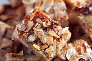 Almond Shortbread Bars and more recipes