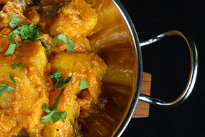 Dum Aloo (Potato Curry) and more recipes