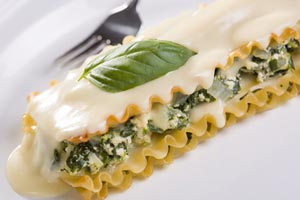 Garlic White Lasagna and more recipes
