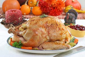 Slow Roasted Turkey and more recipes