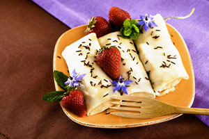 Sweet Cheese-Filled Crepes and more recipes