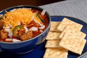 Brett Favre's Creole Style Chili and more recipes