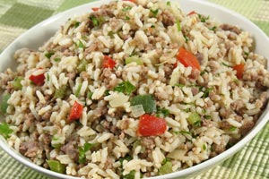 Dirty Rice Dressing and more recipes