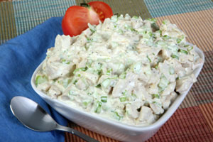 Warm Chicken Salad and more recipes