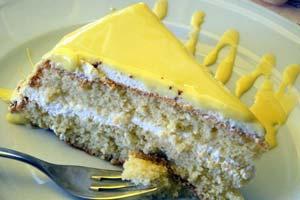 Lemon Cake with Jam Filling and more recipes