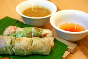 California Rock Crab Spring Rolls With Plum Dipping Sauce and more recipes