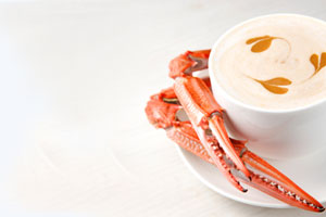 Crab Bisque and more recipes