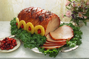 Baked Ham in Seven-Up and more recipes