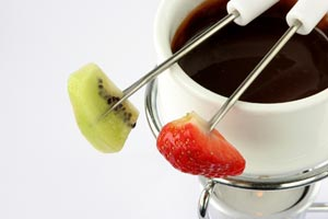 Bailey's Irish Cream Chocolate Fondue and more recipes