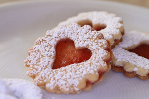 Mexican Cookie Hearts and more recipes