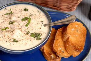 Chuck's Clam Chowder and more recipes
