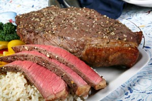 London Broil With Steak Sauce Gravy And Smashed Cauliflower and more recipes