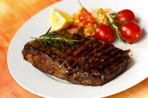 Grilled New York Strip Steaks With Roquefort Butter and more recipes