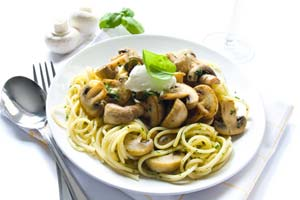 Whole Wheat Spaghetti with Asparagus and Mushroom Saute and more recipes