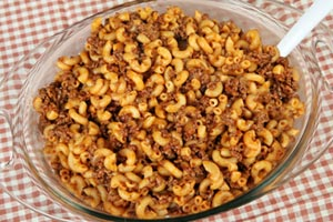 Macaroni And Beef Bake and more recipes