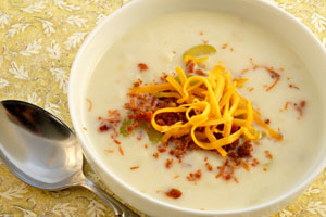 America's Best Baked Potato Soup and more recipes