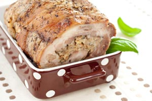 Stuffed Pork Roast and more recipes