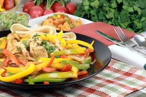 Chicken Fajitas and more recipes