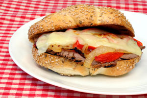 A Real Philly Cheese Steak and more recipes