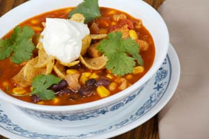 Mexican Taco Pasta Soup and more recipes