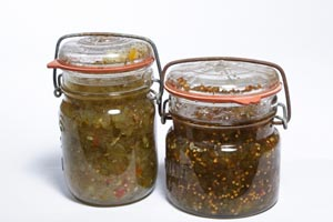 Zucchini Pickle Relish and more recipes