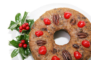 Old Fashioned Dark Fruitcake and more recipes