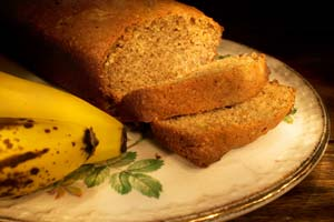 Banana Wheat Bread and more recipes