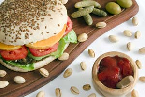 Lentil-Walnut Burgers and more recipes