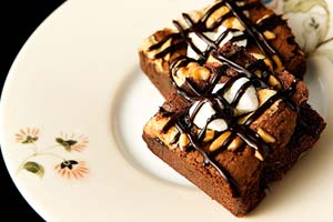Hot Fudge Brownies and more recipes