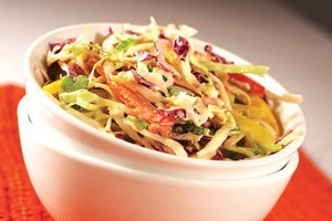 Chef Lauren's Festive Coleslaw and more recipes