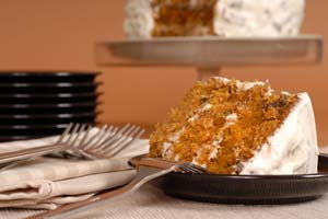 Signature Carrot Cake and more recipes
