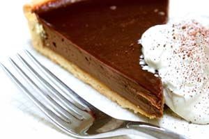No-crust Fudge Pie and more recipes