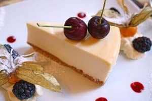 Orange Zinger Cheesecake and more recipes