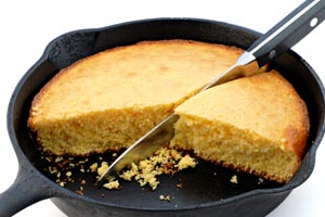 Corn Bread from Scratch and more recipes