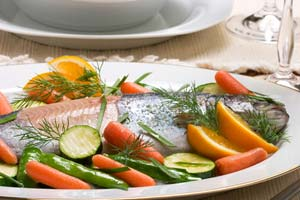 Baked Trout with Fresh Garden Herbs and more recipes