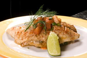 Sole In Herbed Butter and more recipes